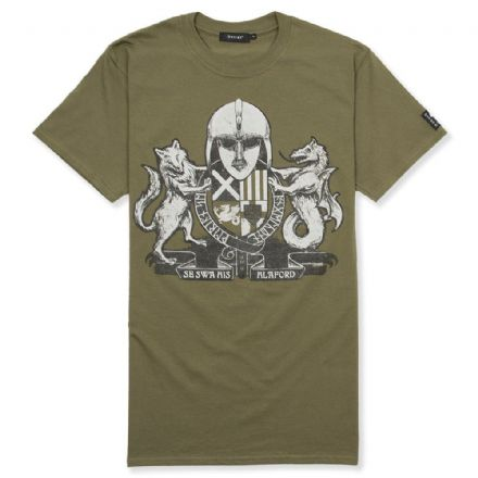 Englisc Arms T-Shirt  - Military Green